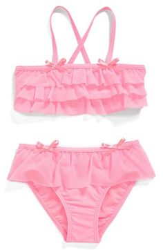 Free shipping and returns on Hula Star 'Princess Aurora' Ruffle Two-Piece Swimsuit (Toddler Girls & Little Girls) at Nordstrom.com. Tiered ruffles and tiny bows sweeten a candy-colored two-piece that keeps your princess stylish at the pool.