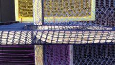 Home / Christina Gohli Hand Stitching, Fiber Art, Dutch, Skyscraper, Texture, Knitting, Crochet, Pattern, Outdoor