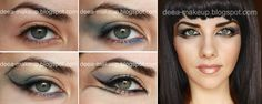 Halloween Make-up - Cleopatra  http://deea-makeup.blogspot.ro/2011/10/halloween-make-up-cleopatra.html