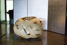 Amazingly beautiful bamboo basket welcoming guests when entering the original Japanese farm by Otomodachi, via Flickr