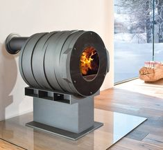This cozy stove Dot by Bullerjan is the perfect stylish companion to savor those cozy moods and special moments at home. The stove has an industrial charm about it....