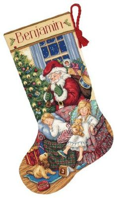 Dimensions Needlecrafts Gold Counted Cross Stitch Sweet Dreams Stocking by Dimensions Needlecrafts, http://www.amazon.com/dp/B000BY4PVU/ref=cm_sw_r_pi_dp_Nlr3qb188F4TR