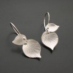 Double Leaf Earrings