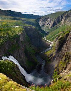 norway water | waterfall