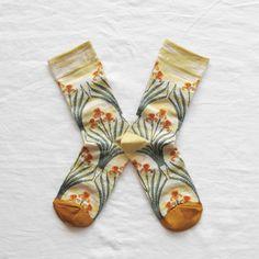 she has the prettiest socks :: @BonneMaison iris