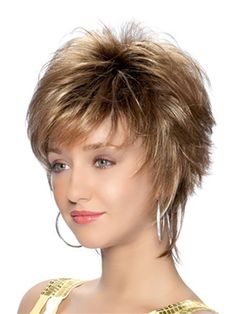 A new look that can take feathery layers and bring it to a fashionable and professional style, short and simple. Short, simple and Chic! Feathery layers and a fashionably progressive finish in the nape area give this cut its runway appeal.