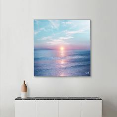 Small Paintings, Seascape Paintings, Landscape Paintings, Beach Canvas Art, Mini Canvas Art, Art Painting Gallery, Coastal Wall Art, Painting Inspiration, Les Oeuvres