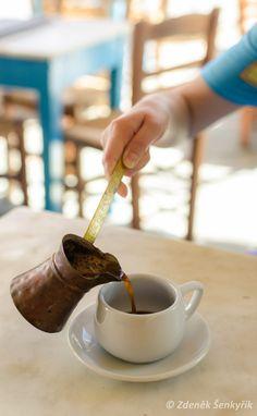 Greek Coffee in Folegandros