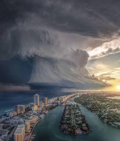 """universedope: """"Beautiful or slightly terrifying? Storm clouds over Miami, Florida 🤯 Composite photos by on IG """" Storm Photography, Canon Photography, Nature Photography, Travel Photography, Photography Training, Photography Flowers, Aerial Photography, Photography Photos, Lifestyle Photography"""