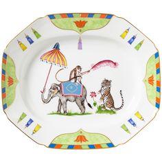 Tiger Raj Serving Platter