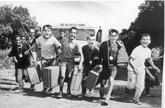 Even in the 60s kids were excited to be at Salvation Army summer camp!