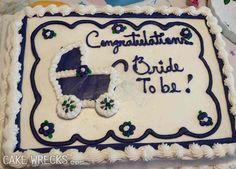 I'd say she's got a whole lotta 'splainin' to do. Camo Wedding Cakes, White Wedding Cakes, Epic Cake Fails, Cakes Gone Wrong, Ugly Cakes, 14th Birthday Cakes, Shotgun Wedding, Dragon Cakes, Funny Cake
