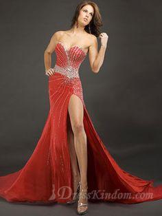 The hot red sexy prom dress. - US$186.99 : DressKindom