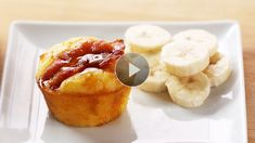 Bake delicious breakfast muffins then freeze them up to three months for a quick and easy microwavable breakfast.