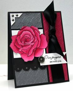 Pomegranate Rose by annascreations - Cards and Paper Crafts at Splitcoaststampers