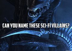 How Well Do You Know Sci-Fi Villains? Take the quiz to see how many you can name! Your Name, Quizzes, Science Fiction, Sci Fi, Names, Fantasy, Canning, Movie Posters, Imagination