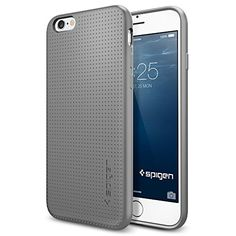 awesome iPhone 6 Case, Spigen® [SOFT-FLEX] iPhone 6 (4.7) Case Slim **NEW** [Capsule] [Gray] Premium Flexible Soft TPU / Extra Grip Case – ECO-Friendly Packaging – Slim Case for iPhone 6 (4.7) (2014) – Gray (SGP11020)