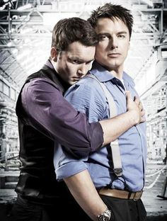 two of my favs from Torchwood! lanto and captain jack!