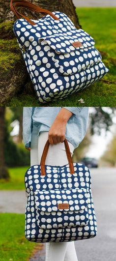Lynn Bag PDF Pattern - ithinksew.com #ithinksew