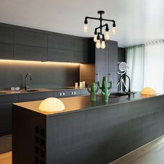 Suprising Small Kitchen Design Ideas and Decor – What Is It? A great deal of houses and apartments have a little kitchen. When it has to do with learning how to paint your house's heart, selecting the ideal kitchen colours… Continue Reading → Kitchen Room Design, Modern Kitchen Design, Kitchen Interior, Kitchen Decor, Contemporary Kitchen Cabinets, Contemporary Kitchen Design, Interior Modern, Open Plan Kitchen, New Kitchen