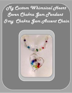chakra jewelry Mothers jewelry reiki by RosesWireArtJewelrY, $28.00