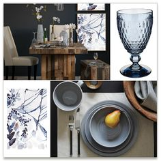 west elm - subtle blues Inspiration Board, curated by Kelly Ventura at Minted
