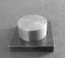37mm round steel eyeshadow press