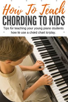 How To Teach Piano Chording To Young Kids - Teach Piano Today Piano Lessons For Kids, Kids Piano, Music Lessons, Piano Music With Letters, Beginner Piano Music, Music Chords, Guitar Chords, Acoustic Guitar, Piano Songs