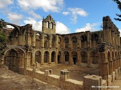 Monasterio abandonado de Santa María de Rioseco, Valle de Manzanedo, Merindades, Burgos