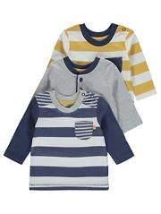 3 Pack Assorted Long Sleeve Tops