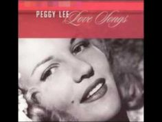 ༺ Peggy Lee - You're My Thrill ༻
