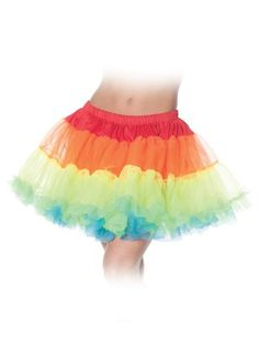Discount wholesale prices on Rainbow Layered Petticoat Tutus for Adults & same day shipping and our guaranteed safe website. Huge Selection!