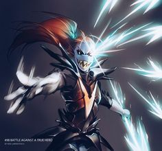 Undyne the Undying-Undertale