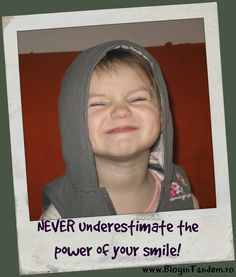 Never underestimate the power of your smile! Different Words, Your Smile, Parenting, Wisdom, Life, Fashion, Moda, Nursing, Fasion