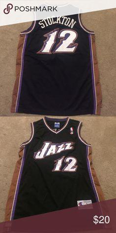 Jersey Vintage John Stockton Utah Jazz NBA Champion Jersey Size L. Brand  new. Condition 4d3fc551c