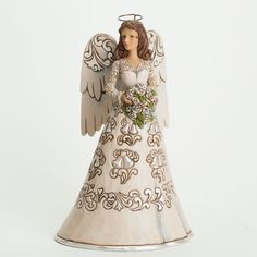 Figura angel BLESSING ON YOUR WEDDING DAY de Jim Shore. See more at http://www.lacasadelocio.es/