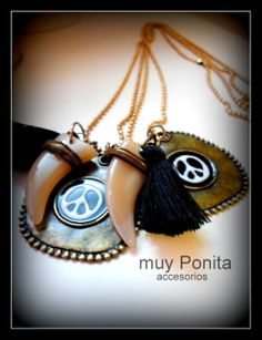 Collar AMULETO pedilo por FB  https://www.facebook.com/accesoriosmuyponita?ref=hl $120.-