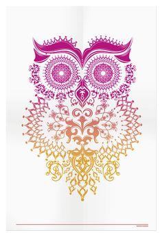Owl Illustration - ++ narani kannan | portfolio ++