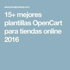Good  mejores plantillas OpenCart para tiendas online