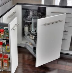 a continuacin te mostraros algunas ingeniosas ideas para organizar los pequeos en la cocina y