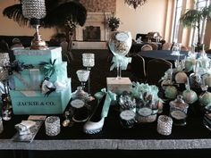 Tiffany Blue Jackie & Co. Candy Buffet.