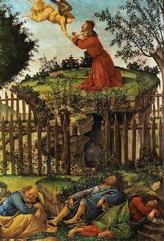 Sandro Botticelli - Christ at Mount o.Olives
