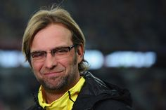 Jürgen Klopp. Borussia Dortmund coach.