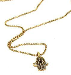 Bild Hultquist Halskette Sacred Charms gold-crystal