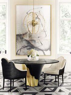 Si usted está buscando para la fila de las tablas de tablas para mejorar su decoración de la casa, no parece más vistas, te proporcionan las mejores habitaciones de lujo para inspirarte. Ver más inspirational and luxury muebles de diseño aquí www.covethouse.eu