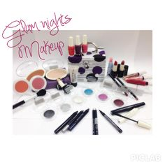 GLAM NIGHTS MAKEUP. In this mini set you will find a complete, useful and glamorous selection of products, including: 1 concelear, 1 oil-free liquid foundation, 1 foundation powder, 2 blushes to be combined, 1 bronzer dust, 1 hydration lipbalm, 2 lipsticks, 3 lip gloss, 2 lip pencils, 6 sparkling and long-lasting eye shadows, 3 pre base eye shadow in pencil, 2 eye pencil, 1 eye liner in pen (really easy to apply), 2 mascaras:1 for longer lashes and 1 for more volume.
