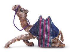 beaded camel pattern by Jill Oxton