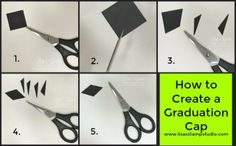 How to make a graduation cap, Stampin' Up!, card, paper, craft, scrapbook, rubber stamp, hobby, how to, DIY, handmade, Live with Lisa, Lisa's Stamp Studio, Lisa Curcio, www.lisasstampstudio.com