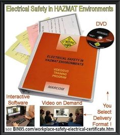 A must for your operator HAZWOPER - HAZMAT certification program and your electrician training programs. Training Manager, Safety Training, Health Programs, Training Programs, Electrical Certificate, Safety Audit, Emergency Response Plan, Training Certificate, Safety Courses
