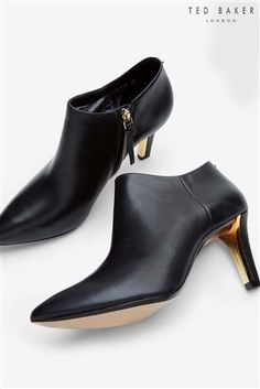 7eada7dc1 Buy Ted Baker Black Pointed Ankle Boot from the Next UK online shop